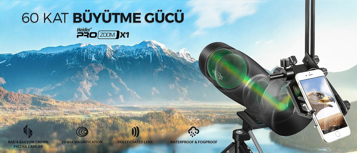 Heider Pro Zoom X1